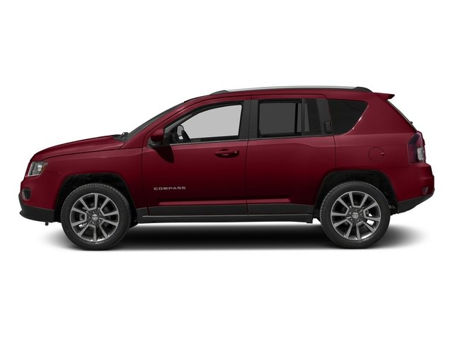 Deep Cherry Red Crystal Pearlcoat 2015 Jeep Compass Pictures Compass Utility 4D Limited 4WD photos side view