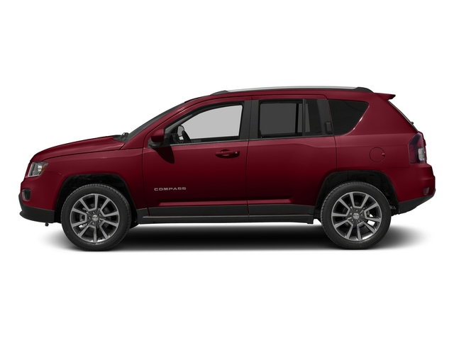 Deep Cherry Red Crystal Pearlcoat 2015 Jeep Compass Pictures Compass Utility 4D Latitude 2WD photos side view