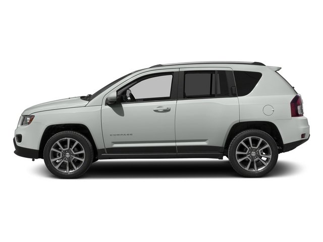 Bright White Clearcoat 2015 Jeep Compass Pictures Compass Utility 4D High Altitude 2WD photos side view
