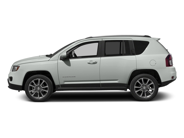 Bright White Clearcoat 2015 Jeep Compass Pictures Compass Utility 4D Latitude 2WD photos side view
