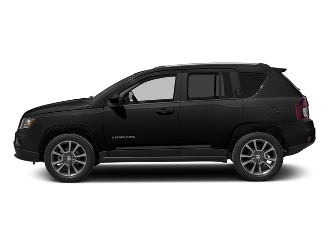Black Clearcoat 2015 Jeep Compass Pictures Compass Utility 4D Latitude 2WD photos side view