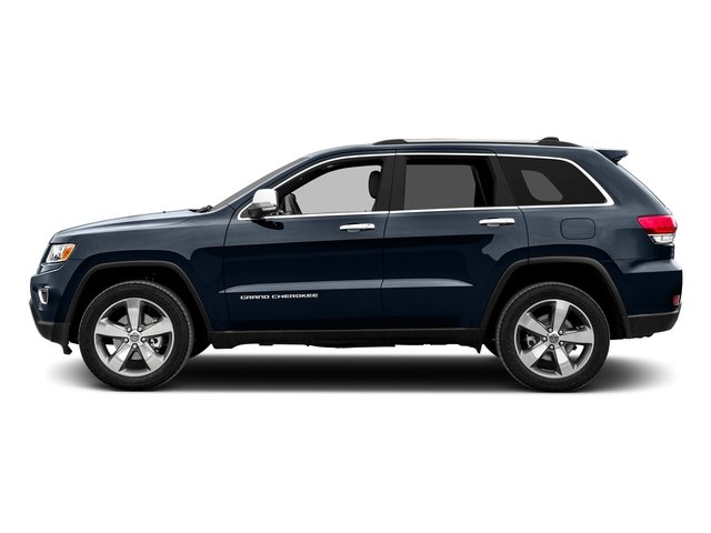 True Blue Pearlcoat 2015 Jeep Grand Cherokee Pictures Grand Cherokee Utility 4D Limited 2WD photos side view