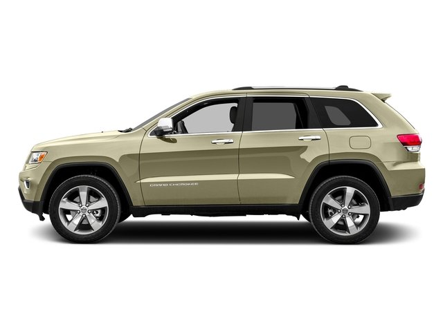 Cashmere Pearlcoat 2015 Jeep Grand Cherokee Pictures Grand Cherokee Utility 4D Limited 4WD photos side view