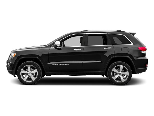 Brilliant Black Crystal Pearlcoat 2015 Jeep Grand Cherokee Pictures Grand Cherokee Utility 4D Limited 2WD photos side view