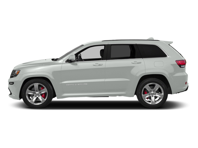 Bright White Clearcoat 2015 Jeep Grand Cherokee Pictures Grand Cherokee Utility 4D SRT-8 4WD photos side view