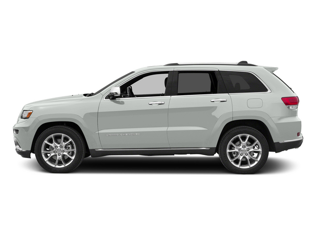 Bright White Clearcoat 2015 Jeep Grand Cherokee Pictures Grand Cherokee Utility 4D Summit Diesel 4WD photos side view