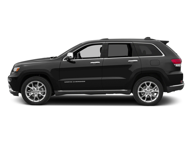 Brilliant Black Crystal Pearlcoat 2015 Jeep Grand Cherokee Pictures Grand Cherokee Utility 4D Summit Diesel 4WD photos side view