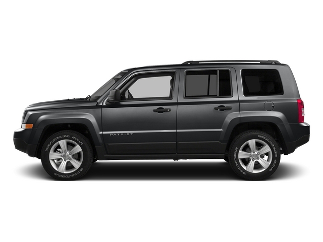 Granite Crystal Metallic Clearcoat 2015 Jeep Patriot Pictures Patriot Utility 4D Sport 2WD photos side view