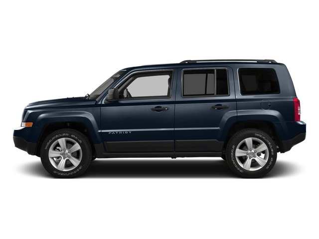True Blue Pearlcoat 2015 Jeep Patriot Pictures Patriot Utility 4D Sport 2WD photos side view