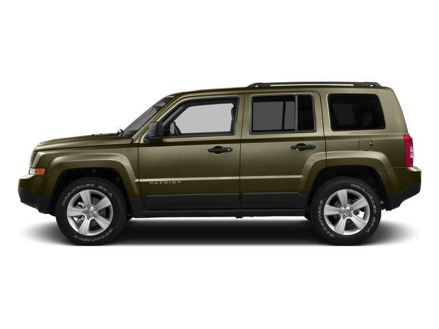 Eco Green Pearlcoat 2015 Jeep Patriot Pictures Patriot Utility 4D Sport 4WD photos side view