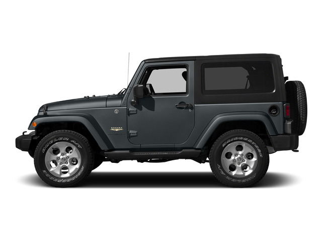 Anvil Clearcoat 2015 Jeep Wrangler Pictures Wrangler Utility 2D Sahara 4WD V6 photos side view
