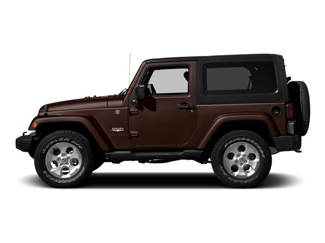 Copper Brown Pearlcoat 2015 Jeep Wrangler Pictures Wrangler Utility 2D Sahara 4WD V6 photos side view