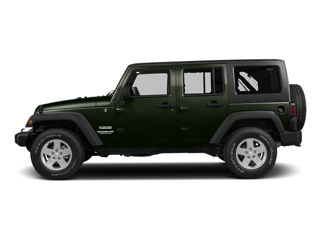 Tank Clearcoat 2015 Jeep Wrangler Unlimited Pictures Wrangler Unlimited Utility 4D Unlimited Sport 4WD V6 photos side view