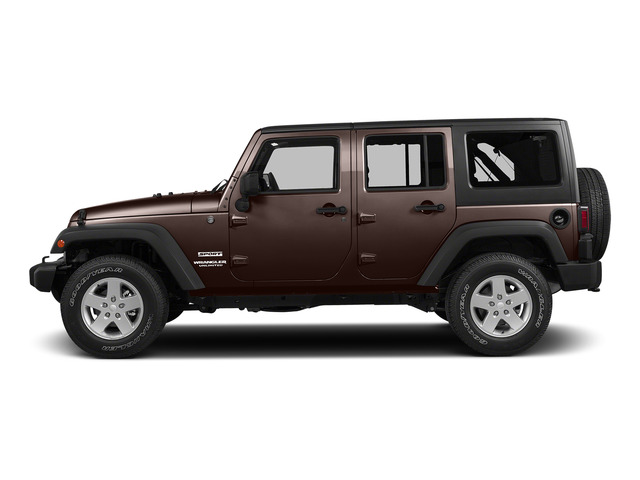 Copper Brown Pearlcoat 2015 Jeep Wrangler Unlimited Pictures Wrangler Unlimited Utility 4D Unlimited Sport 4WD V6 photos side view