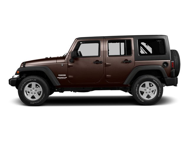 Copper Brown Pearlcoat 2015 Jeep Wrangler Unlimited Pictures Wrangler Unlimited Utility 4D Unlimited Rubicon 4WD V6 photos side view