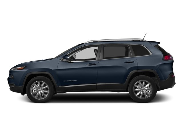 True Blue Pearlcoat 2015 Jeep Cherokee Pictures Cherokee Utility 4D Latitude 4WD photos side view