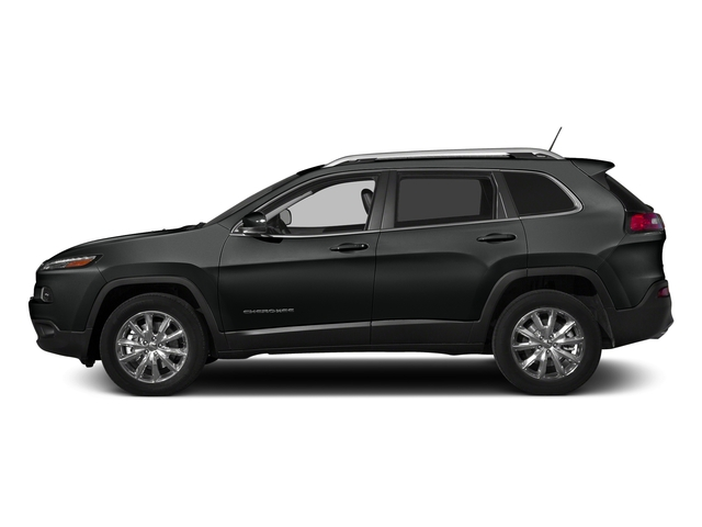 Brilliant Black Crystal Pearlcoat 2015 Jeep Cherokee Pictures Cherokee Utility 4D Latitude 4WD photos side view