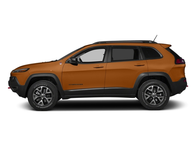 Mango Tango Pearlcoat 2015 Jeep Cherokee Pictures Cherokee Utility 4D Trailhawk 4WD photos side view