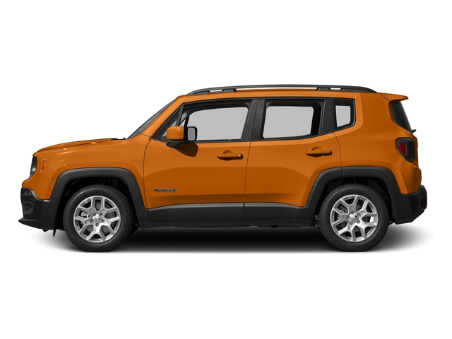 Omaha Orange 2015 Jeep Renegade Pictures Renegade Utility 4D Latitude AWD I4 photos side view
