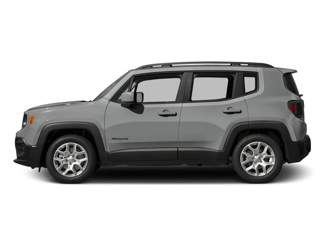 Glacier Metallic 2015 Jeep Renegade Pictures Renegade Utility 4D Latitude AWD I4 photos side view