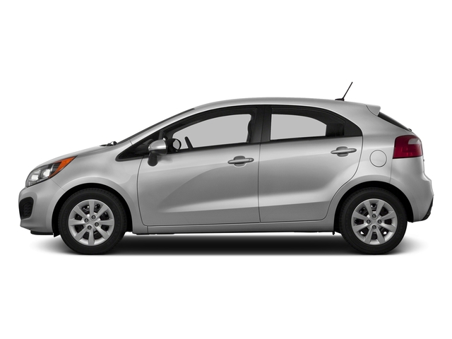 Bright Silver 2015 Kia Rio Pictures Rio Hatchback 5D LX I4 photos side view