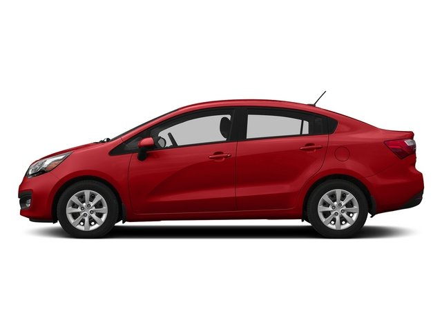 Signal Red 2015 Kia Rio Pictures Rio Sedan 4D EX I4 photos side view