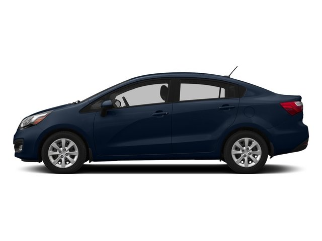 Midnight Sapphire 2015 Kia Rio Pictures Rio Sedan 4D EX I4 photos side view