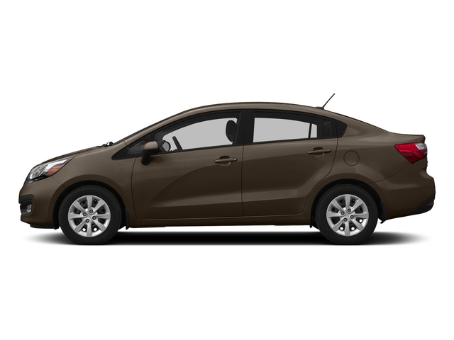 Chestnut 2015 Kia Rio Pictures Rio Sedan 4D EX I4 photos side view