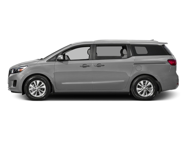 Bright Silver 2015 Kia Sedona Pictures Sedona Wagon LX V6 photos side view