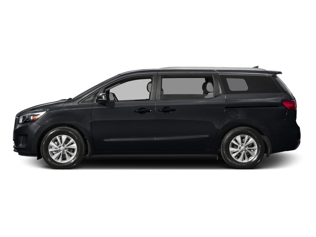 Aurora Black 2015 Kia Sedona Pictures Sedona Wagon LX V6 photos side view
