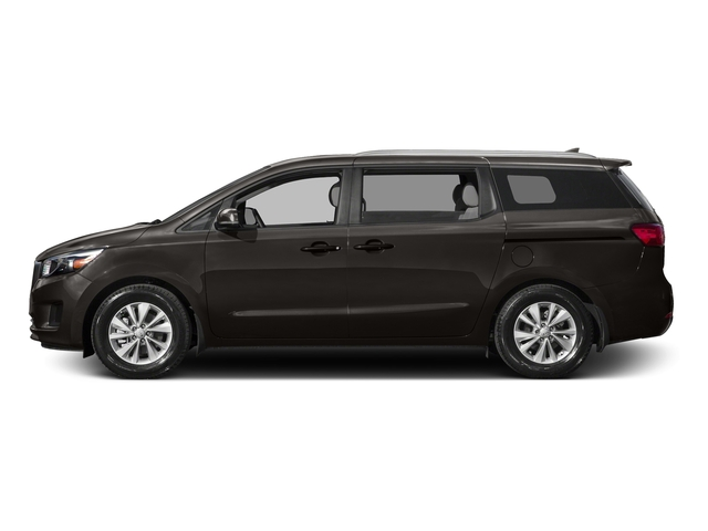 Titanium Brown 2015 Kia Sedona Pictures Sedona Wagon LX V6 photos side view