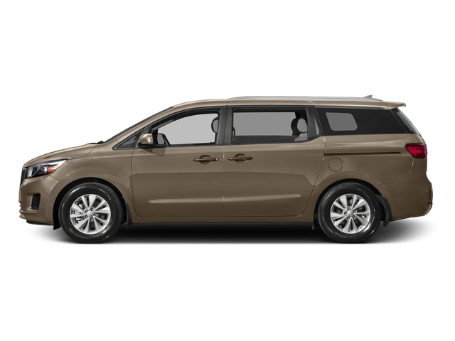 New Beige 2015 Kia Sedona Pictures Sedona Wagon LX V6 photos side view
