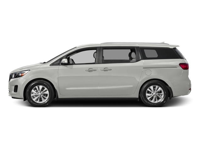 Solid White 2015 Kia Sedona Pictures Sedona Wagon LX V6 photos side view