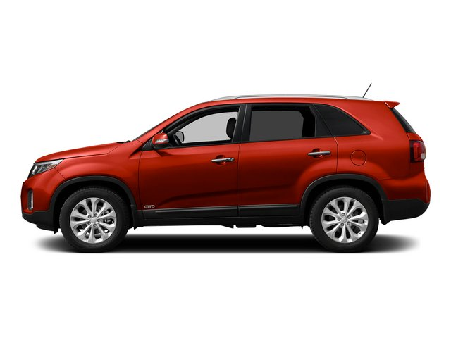 Remington Red Metallic 2015 Kia Sorento Pictures Sorento Utility 4D SX 2WD V6 photos side view