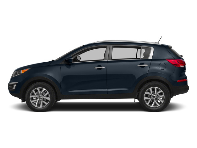 Twilight Blue 2015 Kia Sportage Pictures Sportage Utility 4D EX 2WD I4 photos side view