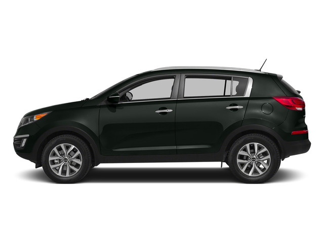Sage Green 2015 Kia Sportage Pictures Sportage Utility 4D EX 2WD I4 photos side view