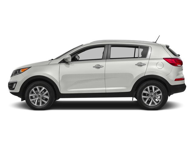 Clear White 2015 Kia Sportage Pictures Sportage Utility 4D EX 2WD I4 photos side view