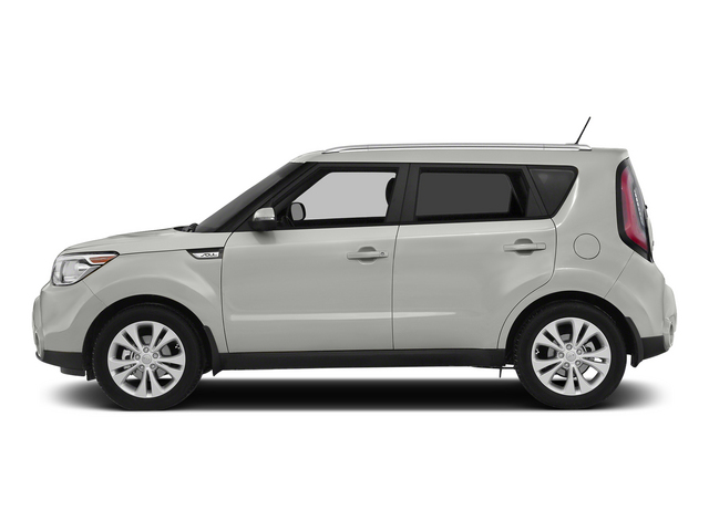 Clear White 2015 Kia Soul Pictures Soul Wagon 4D I4 photos side view