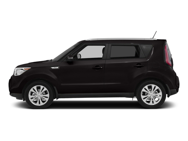 Shadow Black 2015 Kia Soul Pictures Soul Wagon 4D I4 photos side view