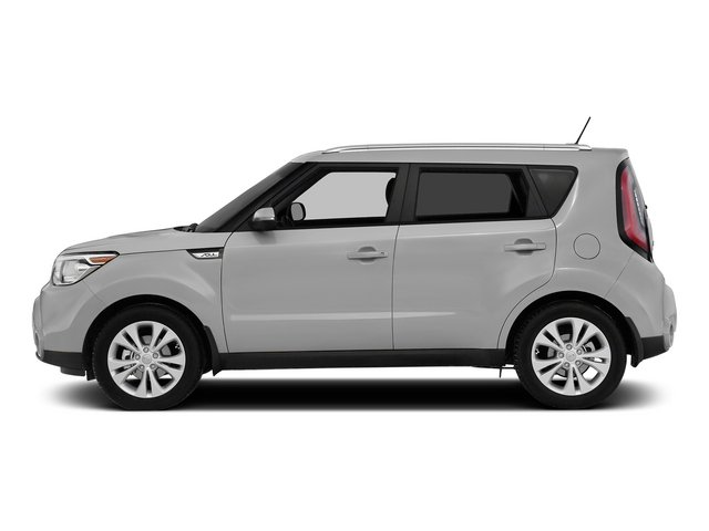 Bright Silver 2015 Kia Soul Pictures Soul Wagon 4D I4 photos side view