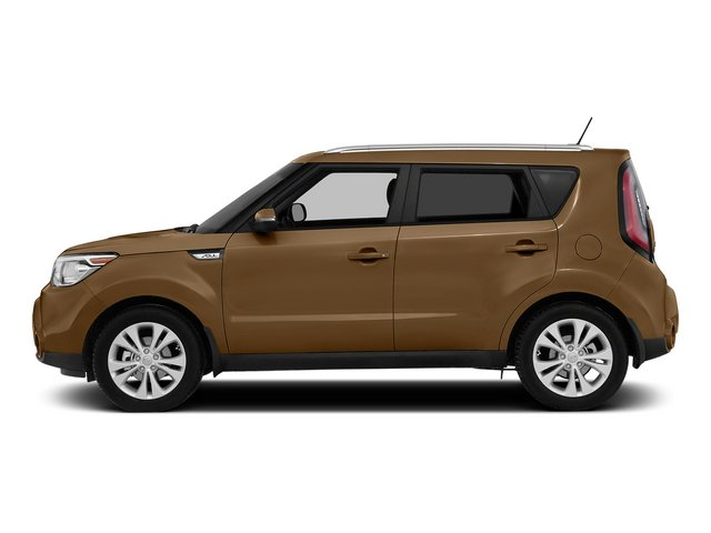 Latte Brown 2015 Kia Soul Pictures Soul Wagon 4D I4 photos side view