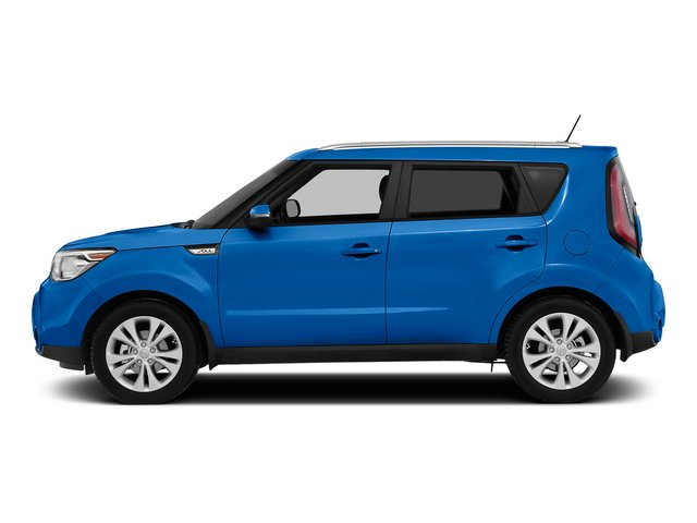 Carribean Blue 2015 Kia Soul Pictures Soul Wagon 4D + I4 photos side view