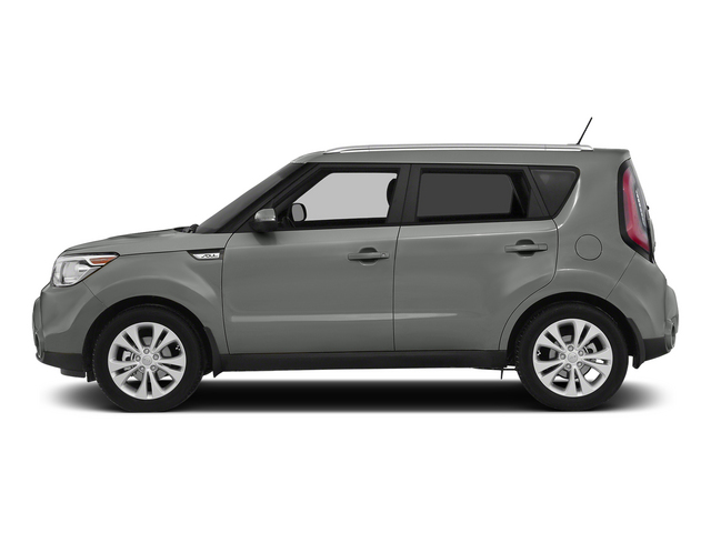 Titanium Gray 2015 Kia Soul Pictures Soul Wagon 4D I4 photos side view