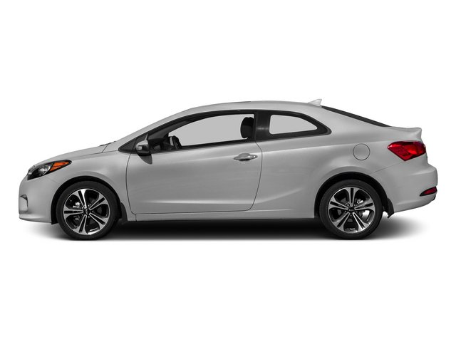 Bright Silver 2015 Kia Forte Koup Pictures Forte Koup Coupe 2D EX I4 photos side view