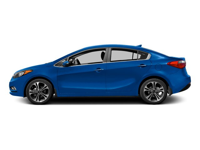 Gravity Blue 2015 Kia Forte Pictures Forte Sedan 4D EX I4 photos side view