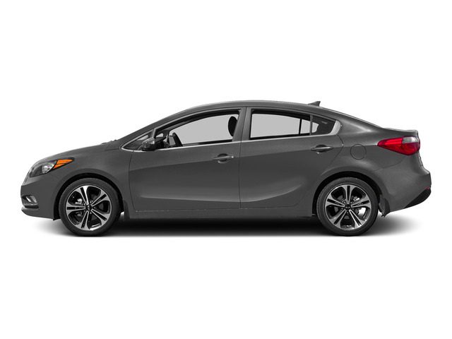 Graphite Steel 2015 Kia Forte Pictures Forte Sedan 4D EX I4 photos side view