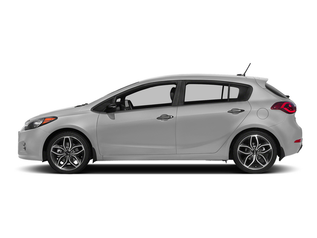 Bright Silver 2015 Kia Forte 5-Door Pictures Forte 5-Door Hatchback 5D EX I4 photos side view