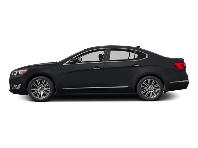 Aurora Black 2015 Kia Cadenza Pictures Cadenza Sedan 4D Limited V6 photos side view