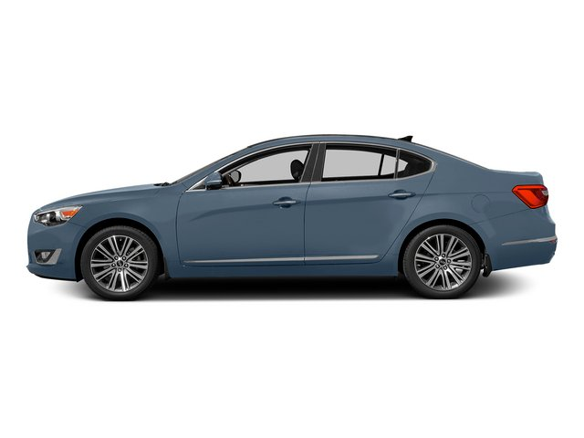 Smokey Blue 2015 Kia Cadenza Pictures Cadenza Sedan 4D Limited V6 photos side view