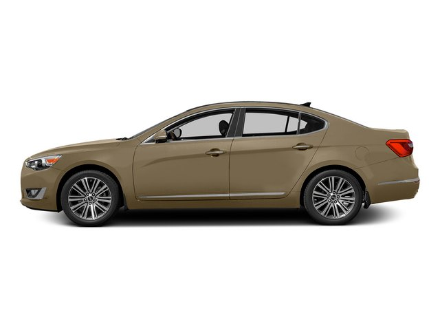 Bronze Metallic 2015 Kia Cadenza Pictures Cadenza Sedan 4D Limited V6 photos side view